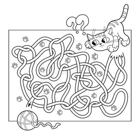 education maze  labyrinth game  preschool children