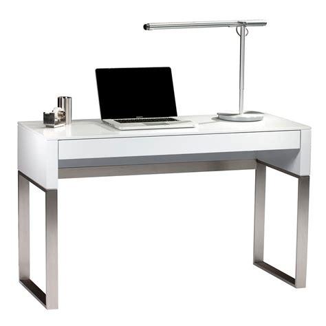 white laptop desk cascadia white modern laptop desk by bdi eurway