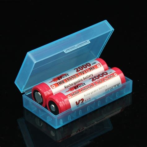 Tempat Baterai Battery Efest For 2x18650 4x18350 battery 2x18650 4x18350 101 vape