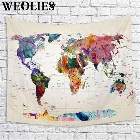 kaufen gro 223 handel weltkarte tapisserie aus china - Bettdecke Weltkarte