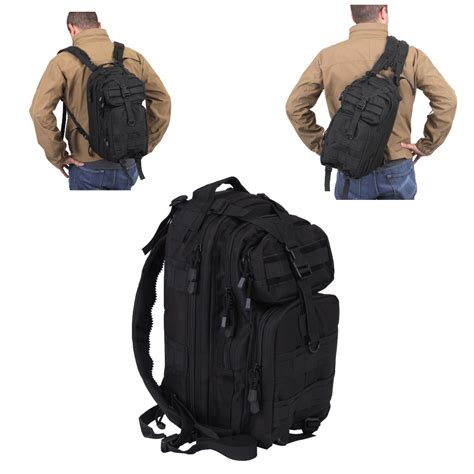 tactical sling backpacks medium convertible transport tactical molle