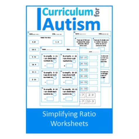 Simplifying Ratios Worksheet by Simplifying Ratio Worksheets