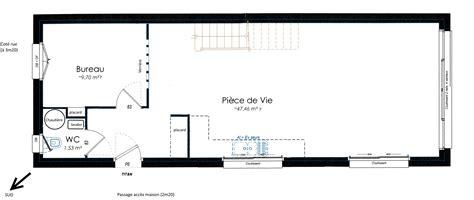 Plan Maison En Longueur 5111 by Plan Maison De Ville 233 Troite Toute En Longueur 8 Messages