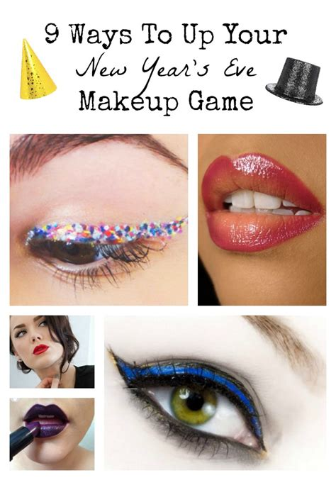 new year make up 9 ways to up your new year s makeup my guide