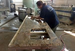 Fabricating Granite Countertops by Granite Countertops Fabrication Process Arch City Granite