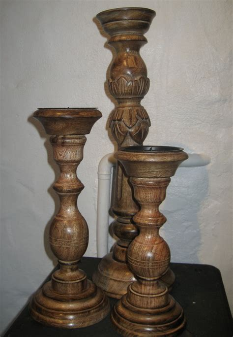 Chunky Candlestick Holders Products Pembrokeshire Candle Centre