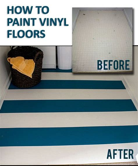 How To Remove Paint From Vinyl Floor by Best Ideas About Painting Lenolium Floors Paint Vinyl