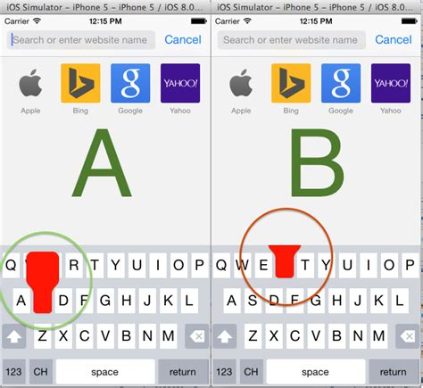 keyboard extension tutorial ios ios 8 keyboard extension issue with adding pop up of