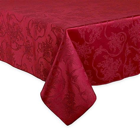 bed bath and beyond christmas tablecloths christmas ribbons tablecloth bed bath beyond
