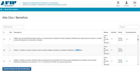 rg 3900 afip registro de beneficios fiscales en el ignacio online monotributistas recuerden tramitar el