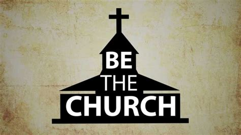 be the church bumper