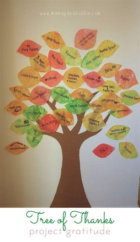 the giving thanks tree fun holiday activities for kids 10 thanksgiving activities that don t require worksheets