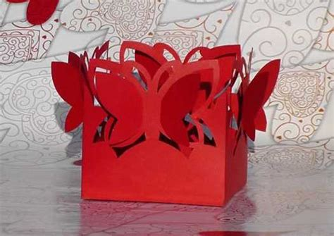 Gift Paper Craft - 21 recycling paper crafts and fabric butterflies for