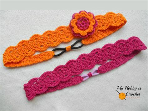 crocheted floral headband 183 how to stitch a knit or my hobby is crochet thread headband free crochet