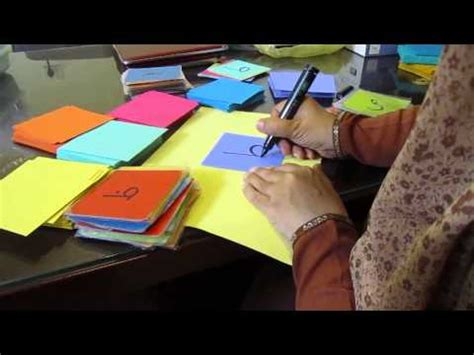 how to make letter card calligraphy of the arabic alphabet flash cards for