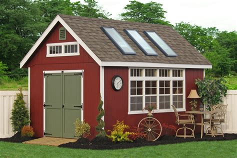 backyard garden potting sheds for sale from pa