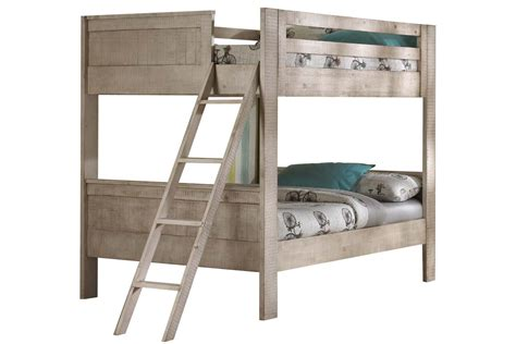 White Futon Bunk Bed White Bunk Bed With Ladder At Gardner White