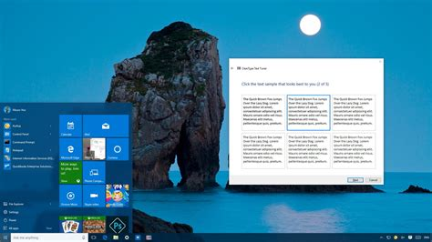 how to make text easier to read using cleartype on windows
