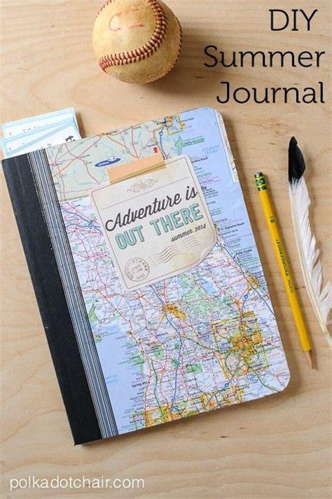 diy travel journal diy summer journal on polka dot chair summer