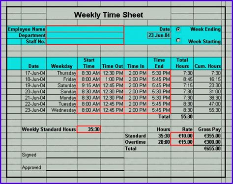 microsoft excel tutorial calculating overtime pay for employees