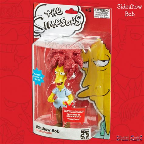 The Simpsons Family Figure the simpsons talking figures collection sideshow bob