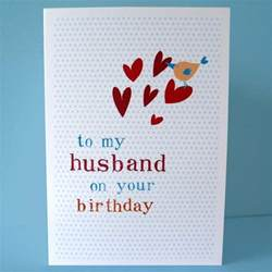 Handmade Gifts For Husbands Birthday - husband birthday card diy folksy buy quot husband