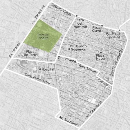 mapa de centro castellon de la plana castello de la plana idealista