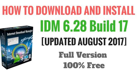 how to download idm full version crack youtube how to download idm full version for free with crack