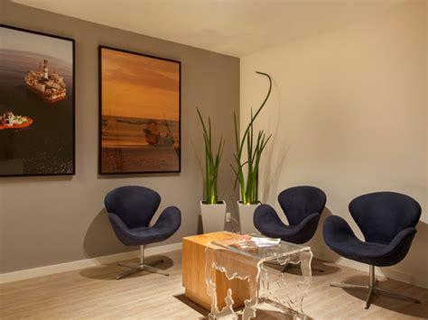 como decorar um escritorio bem pequeno arquitetura contempor 226 nea para empresas escrit 243 rio