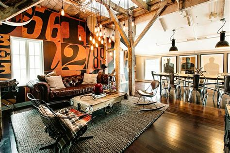 creative living rooms ideas loft residential spaces 30 stylish and inspiring industrial living room designs