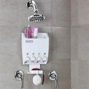 rv shower soap dispenser to simplify the shower experience