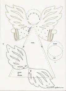 christmas craft ideas paper angel tutorial crafts ideas