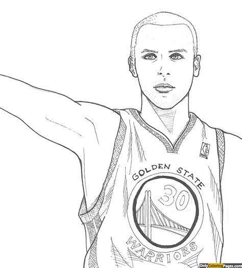 free curry coloring pages stephen curry coloring pages free printable online