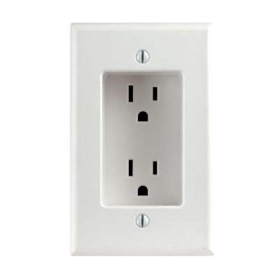 cool wall receptacle 17 best ideas about recessed outlets on pinterest