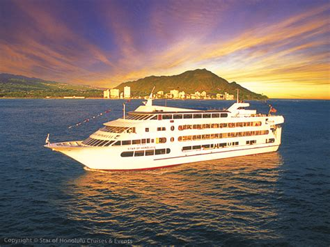dinner on a boat honolulu star of honolulu three star valentine s dinner show