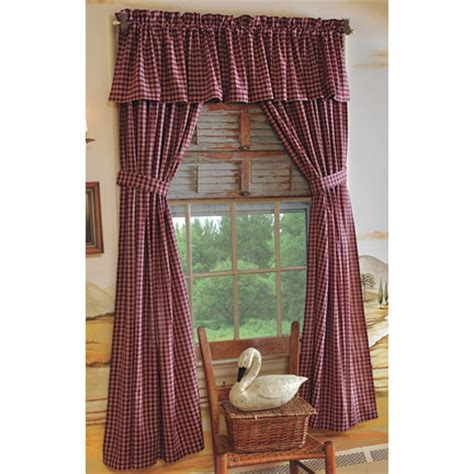 Primitive Country Curtains Bj S Country Charm Primitive
