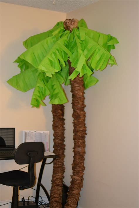 How To Make Tree Out Of Paper - make your own palm trees with pool noodles she bakes and