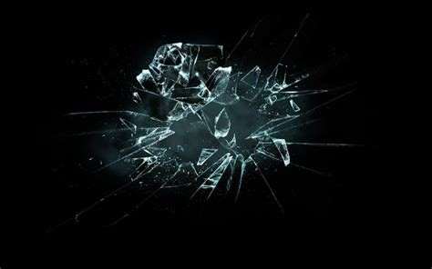 wallpaper black glass broken glass backgrounds wallpaper cave