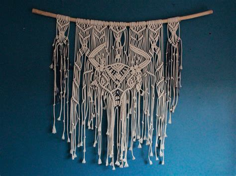 Large Macrame Wall Hanging - macrame wall hanging large wall hanging macrame western