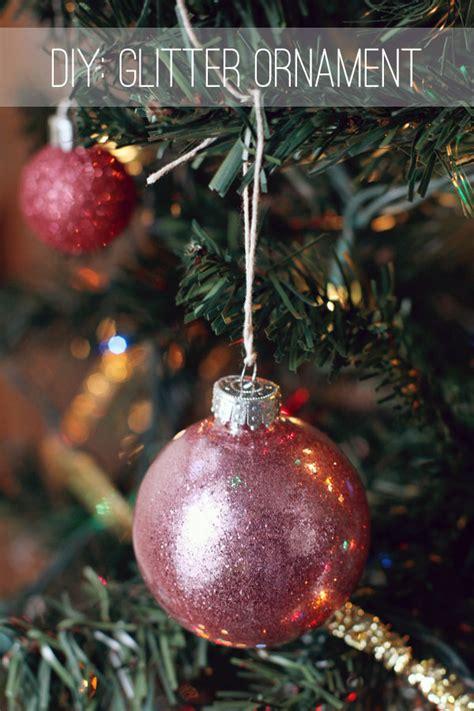 diy glitter twine ornaments crafty diy glitter ornaments earl grey creative