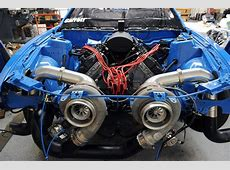 Meet the World's Most Powerful Coyote 5.0L V8 - MustangForums Garrett Turbolader