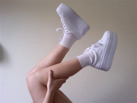The Spice Are Backand Not A Platform Trainer In Sight by Shoes White Converse Sneakers Trainers Lace Up Lace