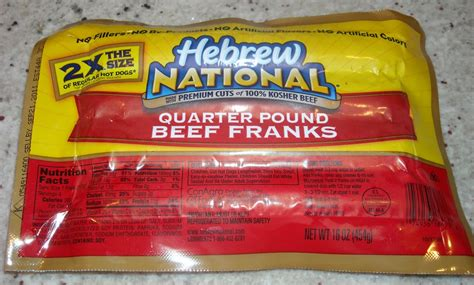hebrew national dogs brand 2 hebrew national quarter pounders grill thrill