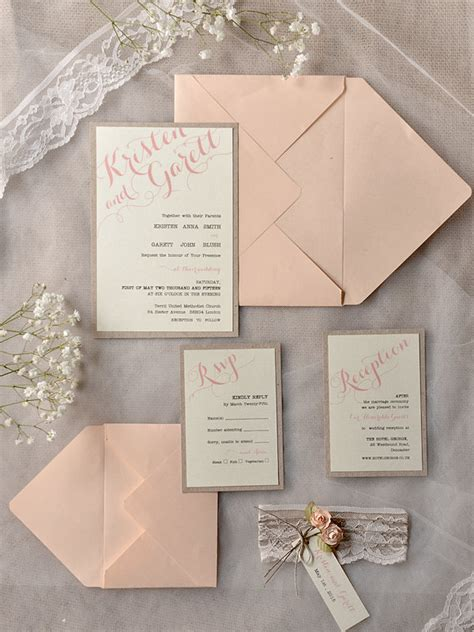 MOD Finds: Rustic Chic Wedding Invitations   MODwedding