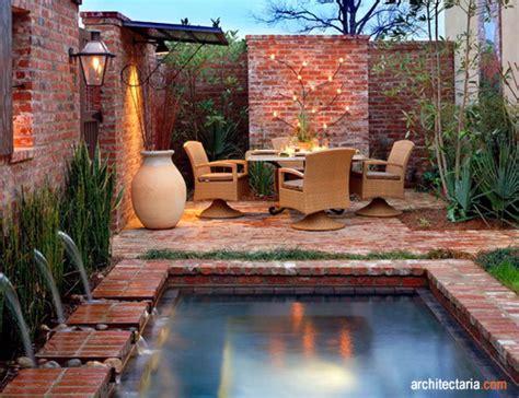 ide kreasi batu bata untuk outdoor dan lanskap pt architectaria media cipta