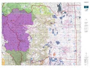 colorado big unit map colorado gmu 20 map mytopo