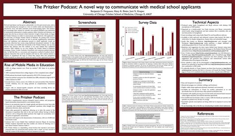 clinical report poster template 9 best images of poster presentation