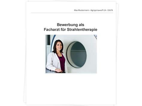 Bewerbungsschreiben Assistenzarzt Strahlentherapie Facharzt F 252 R Strahlentherapie Bewerbung Tipps Zu Anschreiben Und Lebenslauf
