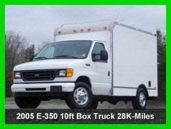 how petrol cars work 2005 ford e250 head up display sell used 2005 ford e350 cutaway 10ft box truck 5 4l econoline gas ac duel bucket seats in south