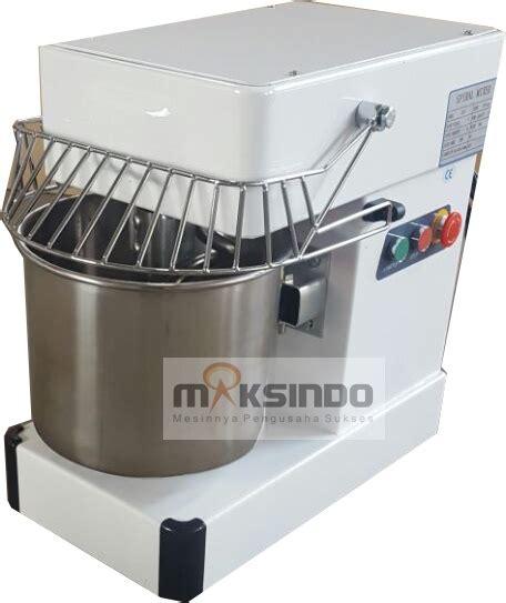 Mesin Mixer Roti Bekas mixer spiral 10 liter mks sp10 toko mesin maksindo